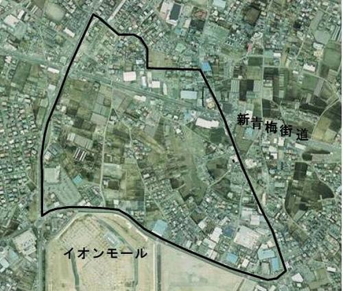 区画写真 1 武蔵村山都市核土地区画整理事業 武蔵村山都市核土地区画整理事業は、... 都市核地